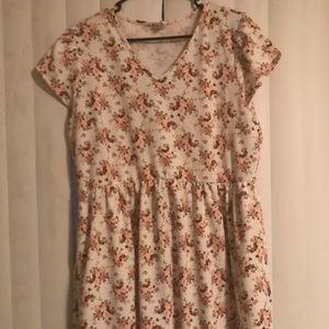 2XL LOS OSOS FLORAL DRESS